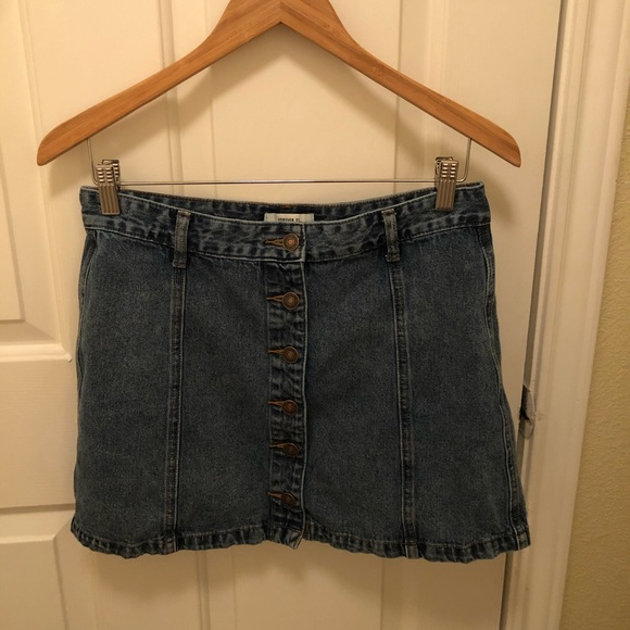 Forever 21 Dresses & Skirts - Large Jean Skirt from Forever 21